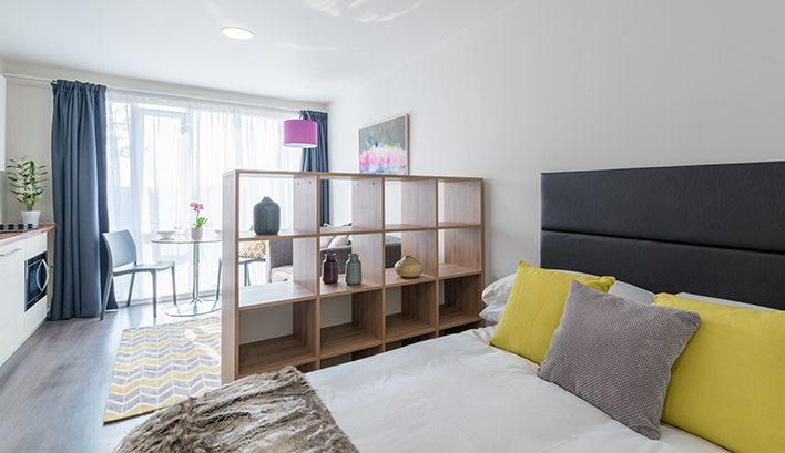 CQ The Court's studio flats to rent in Leeds come equipped with everything you need as standard