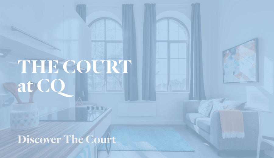 Discover CQ The Court: exceptional studio flats for rent in Leeds