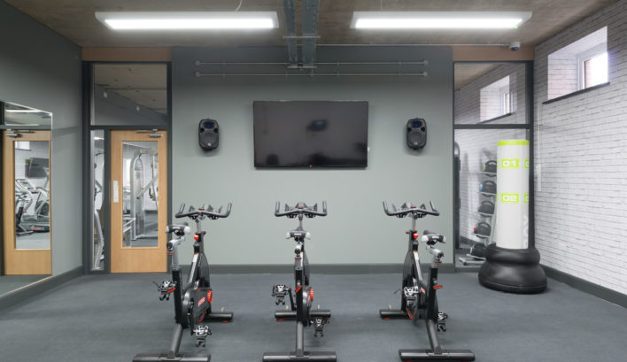 Your very own gym? With our studio flats to rent in Leeds, it's yours to use as you please at The Court!