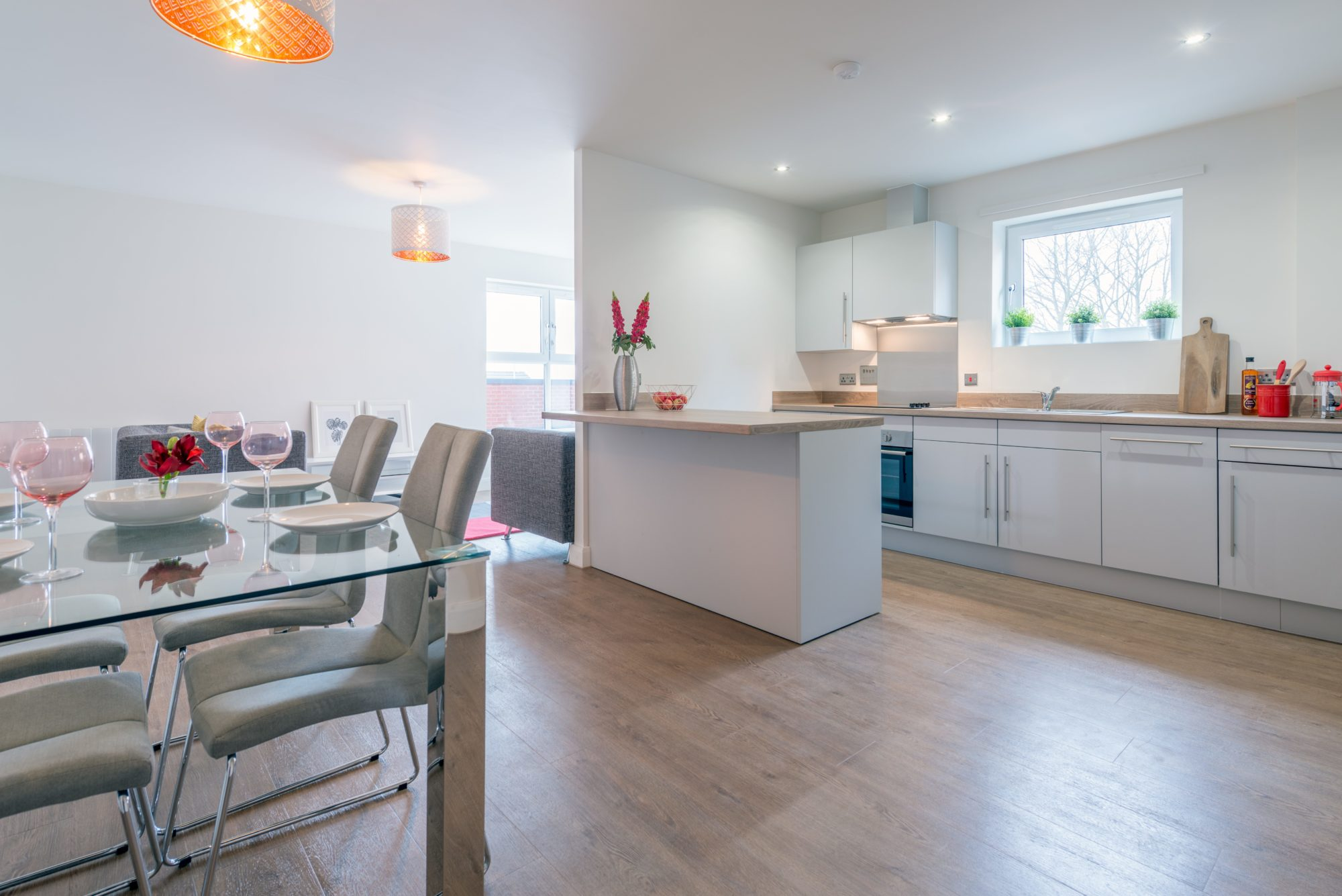 High-quality, modern rental 3-bedroom apartments to rent in Leeds at The Gardens