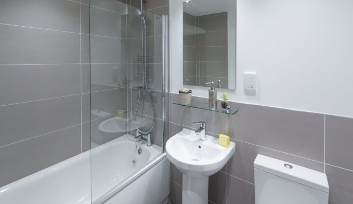 All aspects of our 3-bedroom apartments are finished to the highest calibre